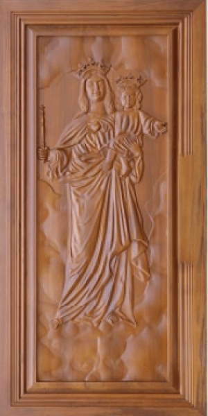 universal plywoods carved wooden doors 4
